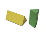 Toy Building Blocks - Triangular Column Block